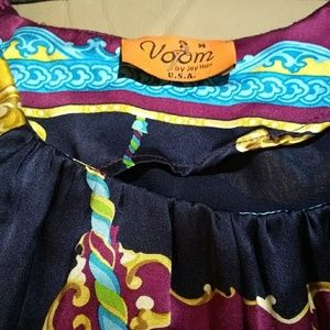 Voom by Joy Han Dresses - Voom Carousel silk dress